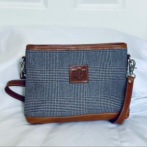 Barrington Crossbody Bag - Leather Trim